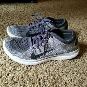 Nike flyknit, grey, 7